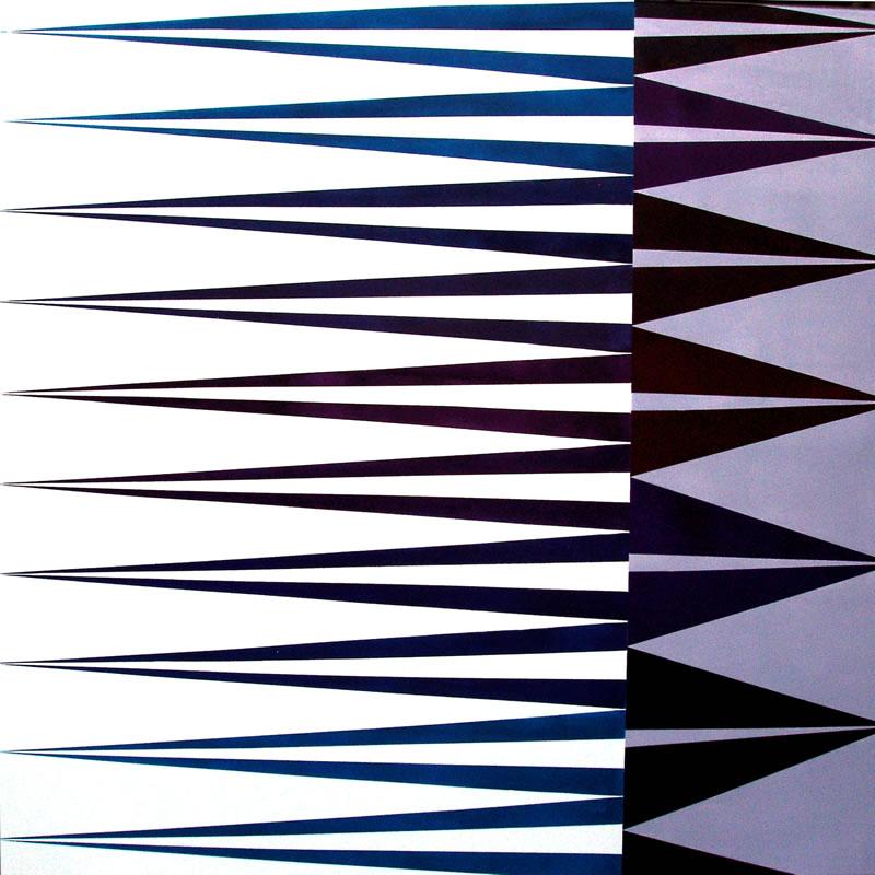 2010 - Serie Puntos de encuentro 100 x 100 cm