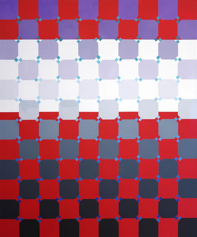Opiniones sobre un mismo tema II 120 x 100 cm. 2011