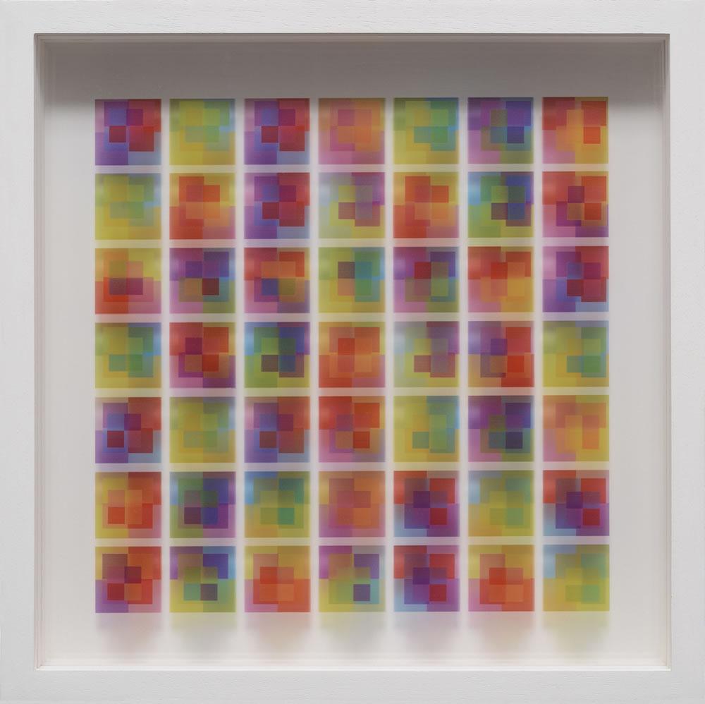 27 - Cristina Hauk-Masche-2014-Técnica mixta  s-tres capas de acrilico 41x41cm