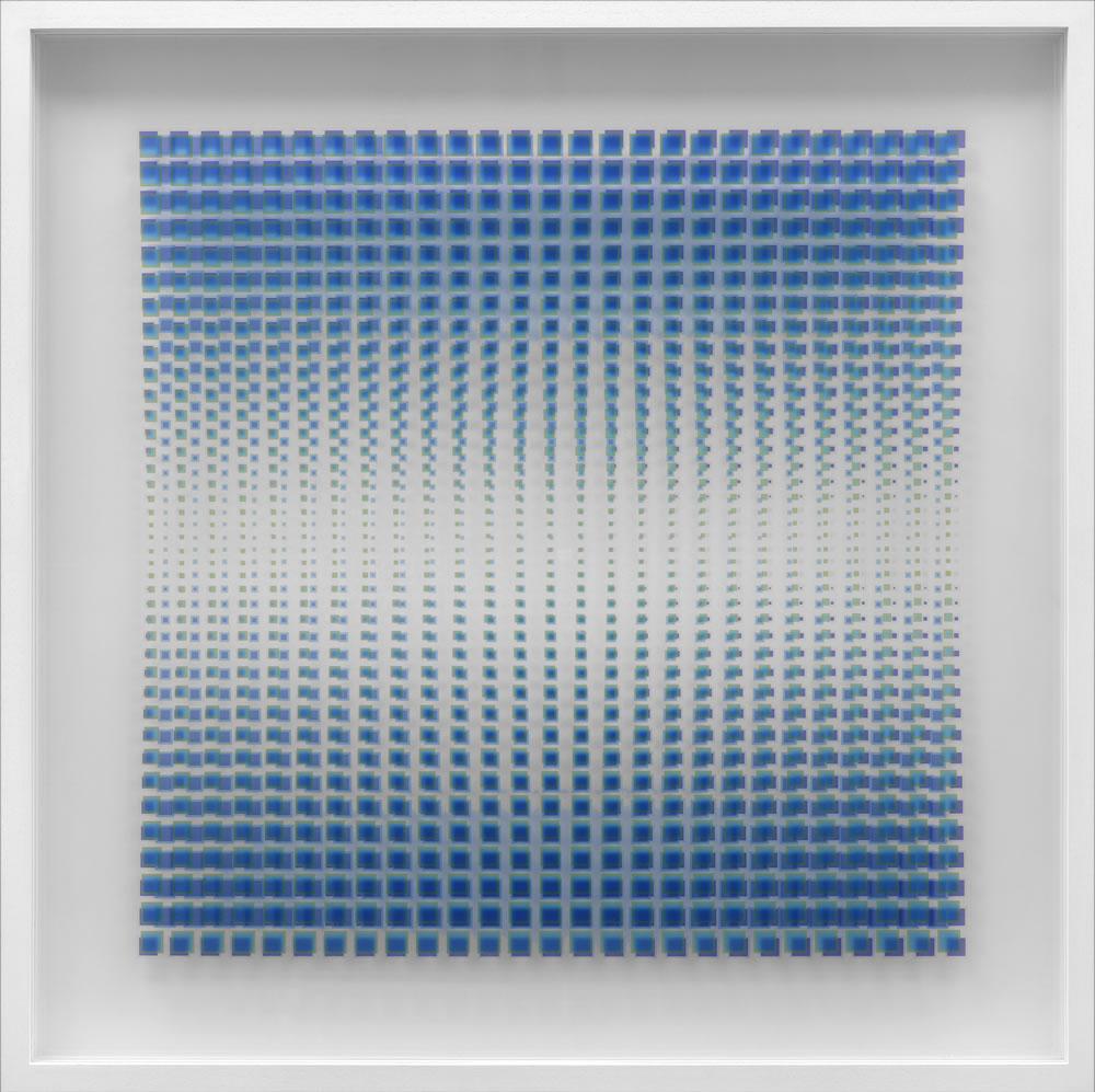 30 - Cristina Hauk-Camino a la paz-2016-Técnica mixta  s-acrilico 100x100cm